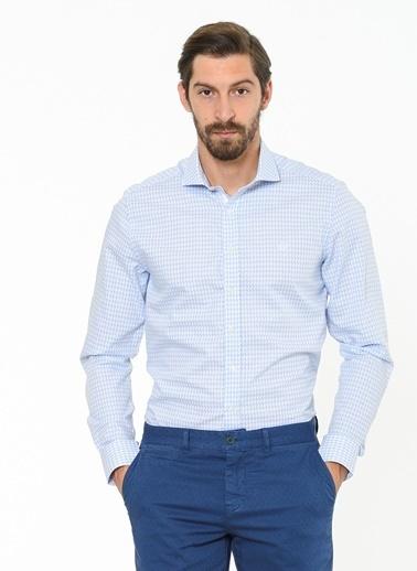 Beymen Business Uzun Kollu Gömlek Mavi
